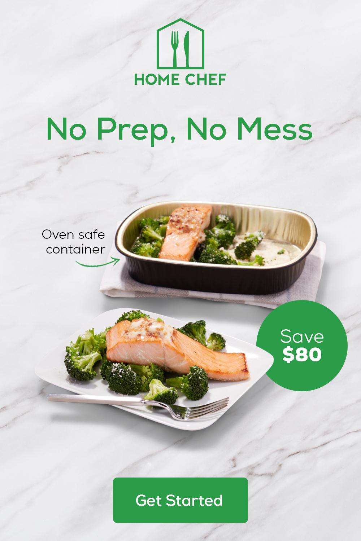 No Prep No Mess Home Chef Healthy Recipes Dinner