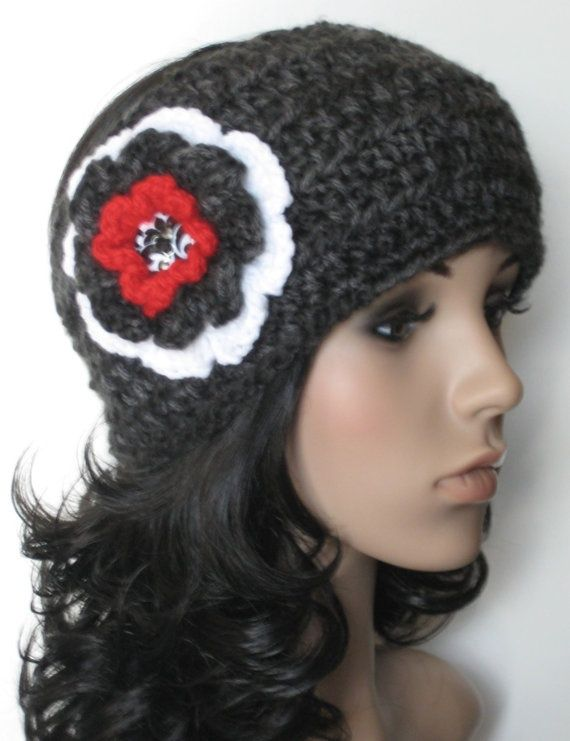 Womens Crochet Ear Warmer Earwarmer Headband With By Buyhand