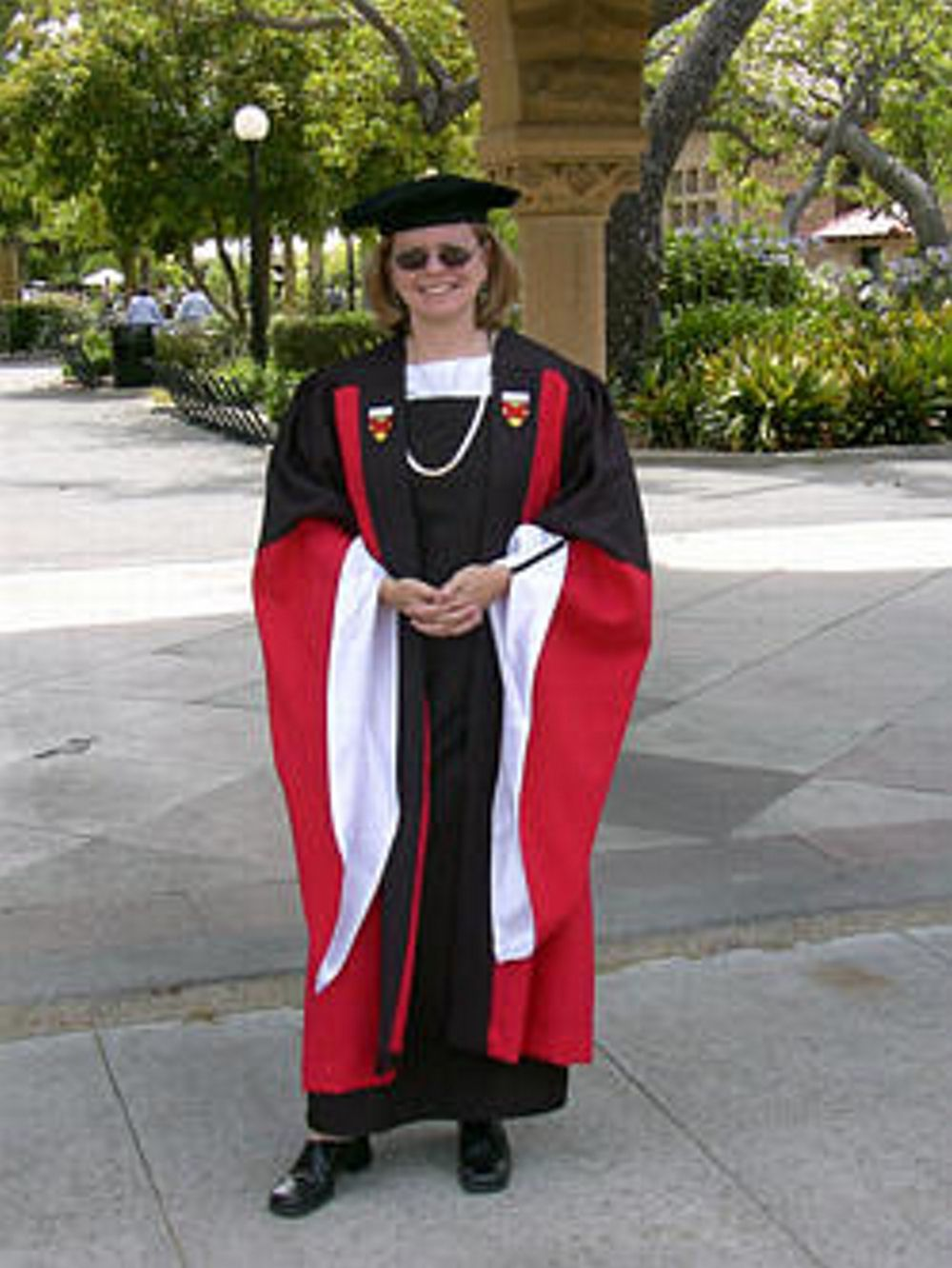 Stanford University Arts Commencement Ceremony Phd Regalia From