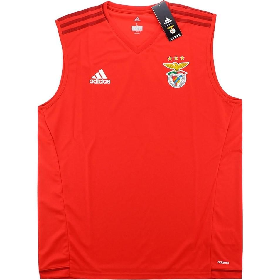 Benfica Adidas Training Vest Sleeveless Shirt Soccer Fussball Original Jersey Football Bnwt Top Classic Football Shirts Soccer Outfits Shirts