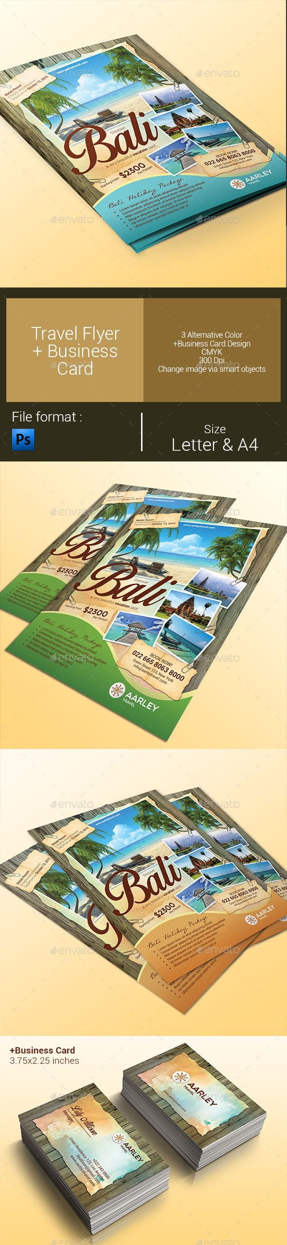 Travel Flyer Business Card Business Cards Business And Flyer