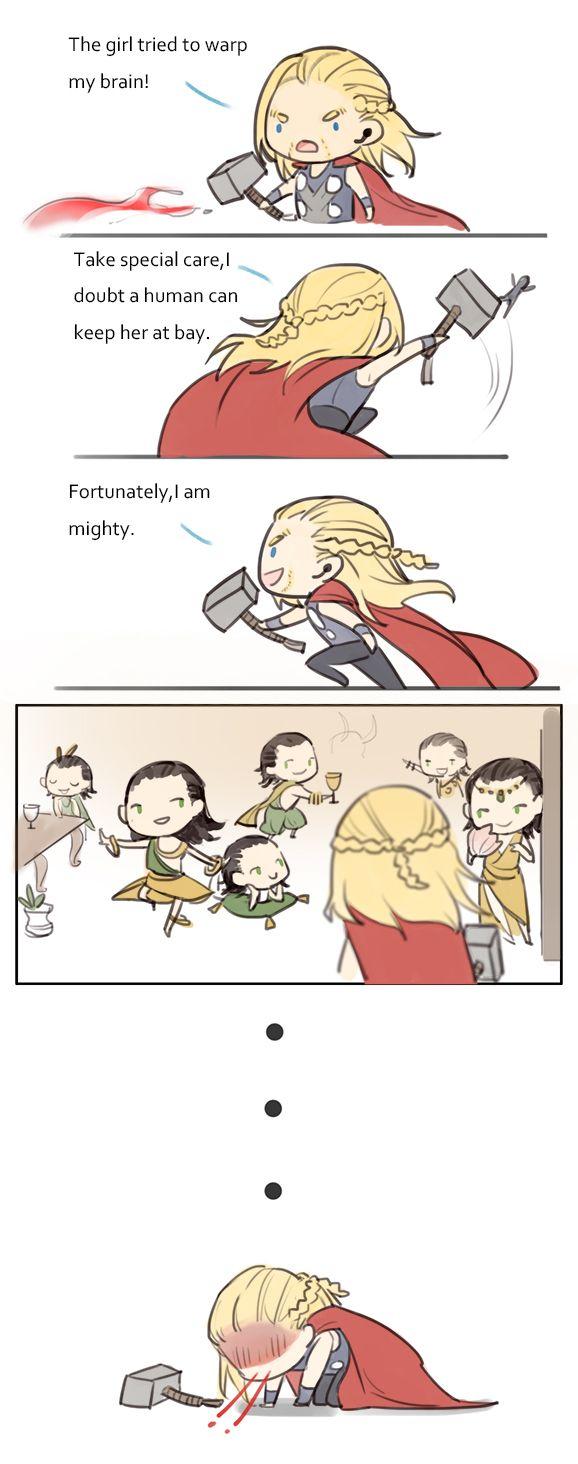 Thor's hallucination