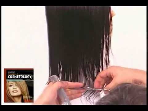 Hair Cutting Technique How To Do A Slide Cutting To Create