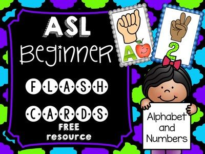 FREE ASL Beginner Flash Cards from Teacher Twinkle Toes on TeachersNotebook.com -  (20 pages)  - These brightly colored FREE ASL Beginner Flash Cards are sure to add sparkle and excitement to your students learning basic ASL!