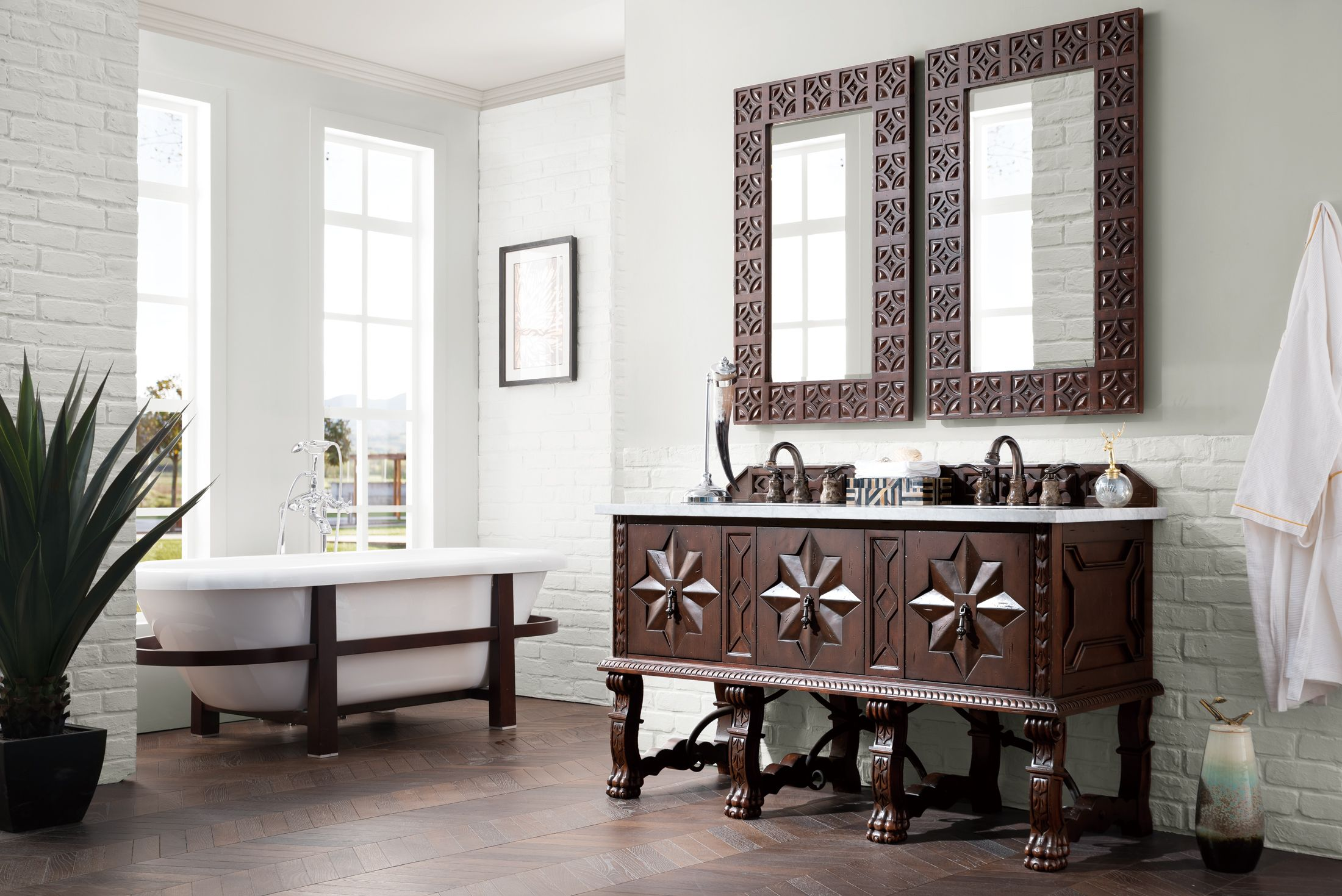 Pin On Old World Bathroom Vanities