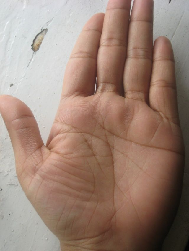 In palmistry books, it is said that if the person's heart line is small then the person is short-lived, if the head line is small then the person is short-lived, and if the life line is small then