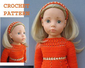 knitting pattern fits AMERICAN GIRL 18 inch Doll von KNITnPLAY