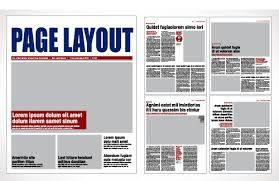 Image Result For Tabloid Newspaper Template Magazine Page