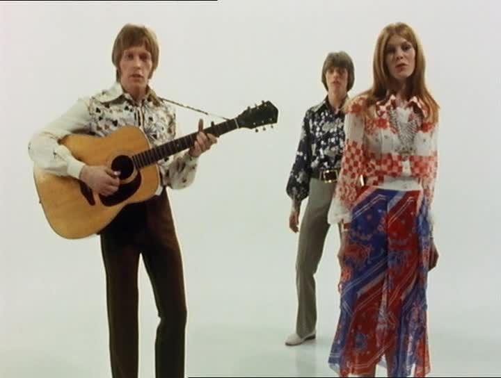 Hutch, Bowie, Hermione - Feathers - in Love you Till Tuesday, 1969