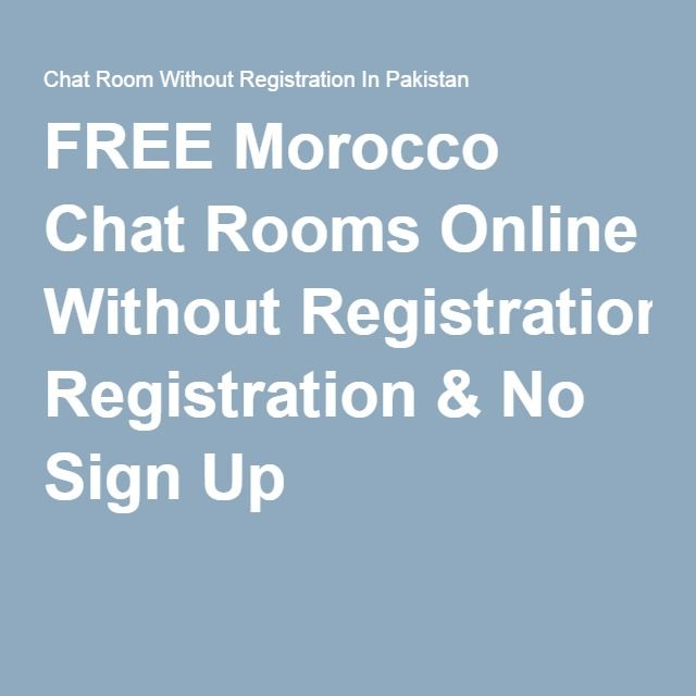 free  chat rooms no sign up