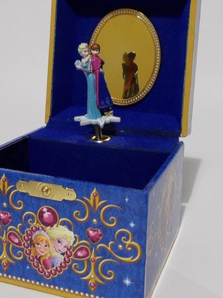Frozen Music Jewelry Box : frozen, music, jewelry, Disney, Parks, Frozen, Jewelry, Musical, Plays, #Disney, Third, Birthday,, Gifts