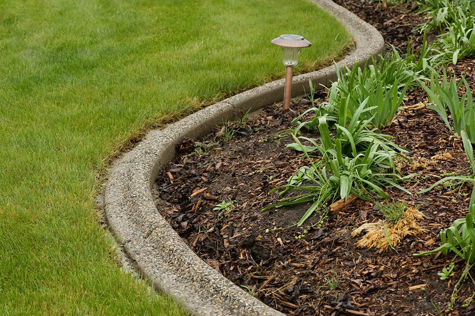 Landscaping Bricks Calgary : Curb diy landscape ideas exposed aggregate and calgary