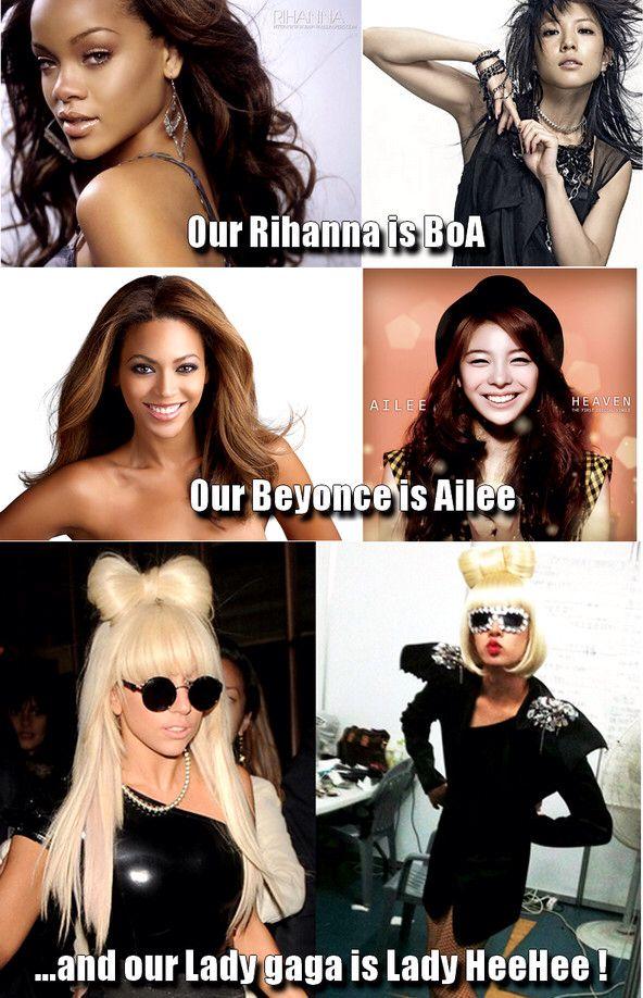 American Vs Korean Idols Kpop Funny Kpop Memes Memes