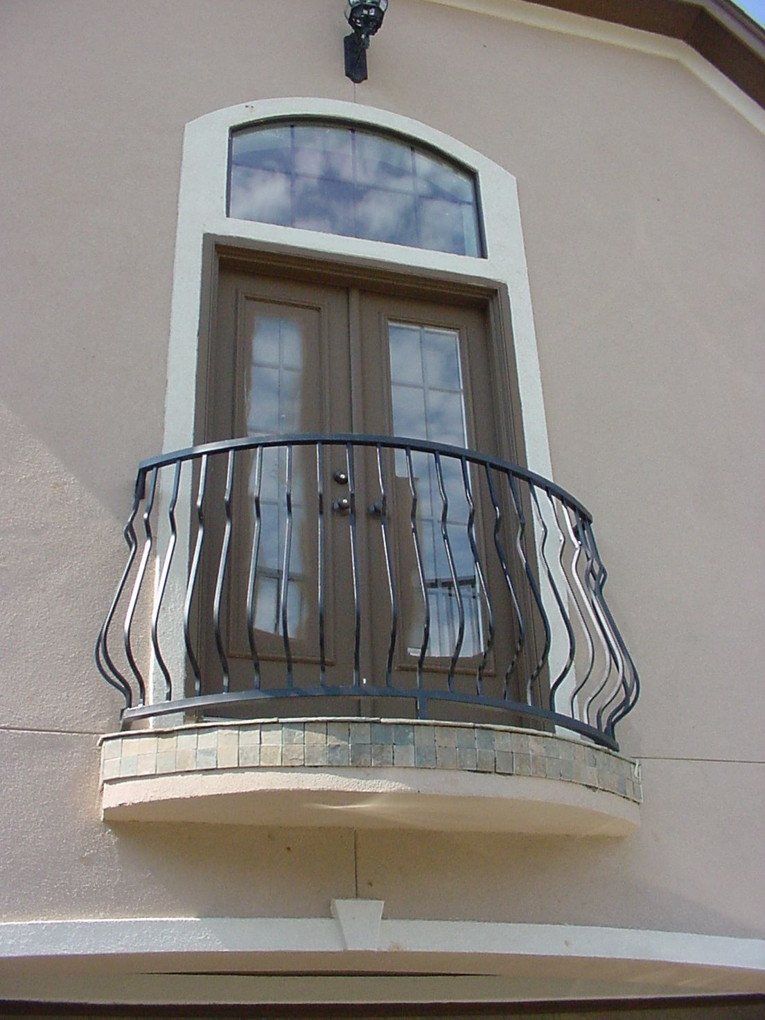This Custom Balcony Design Was Created Using Our