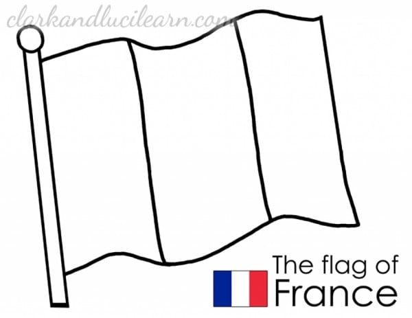 France Flag To Color 5745 French Flag France Flag Flag