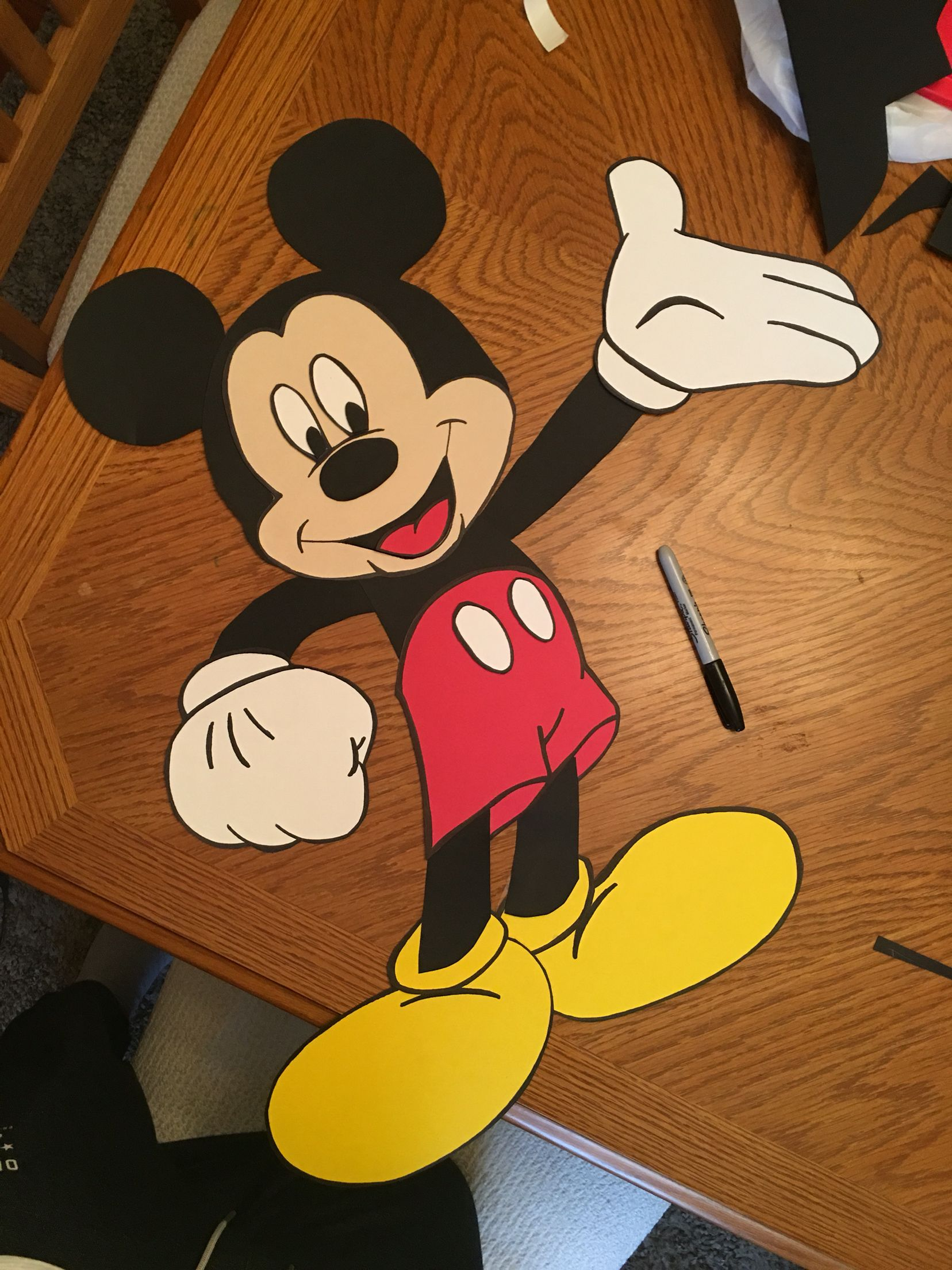 Mickey Mouse Decoration for birthday parties bedrooms play rooms