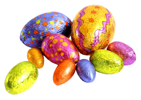 Colourful Easter Eggs Png Image With Transparent Background In 2021