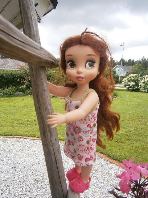 Belle kesämekossa