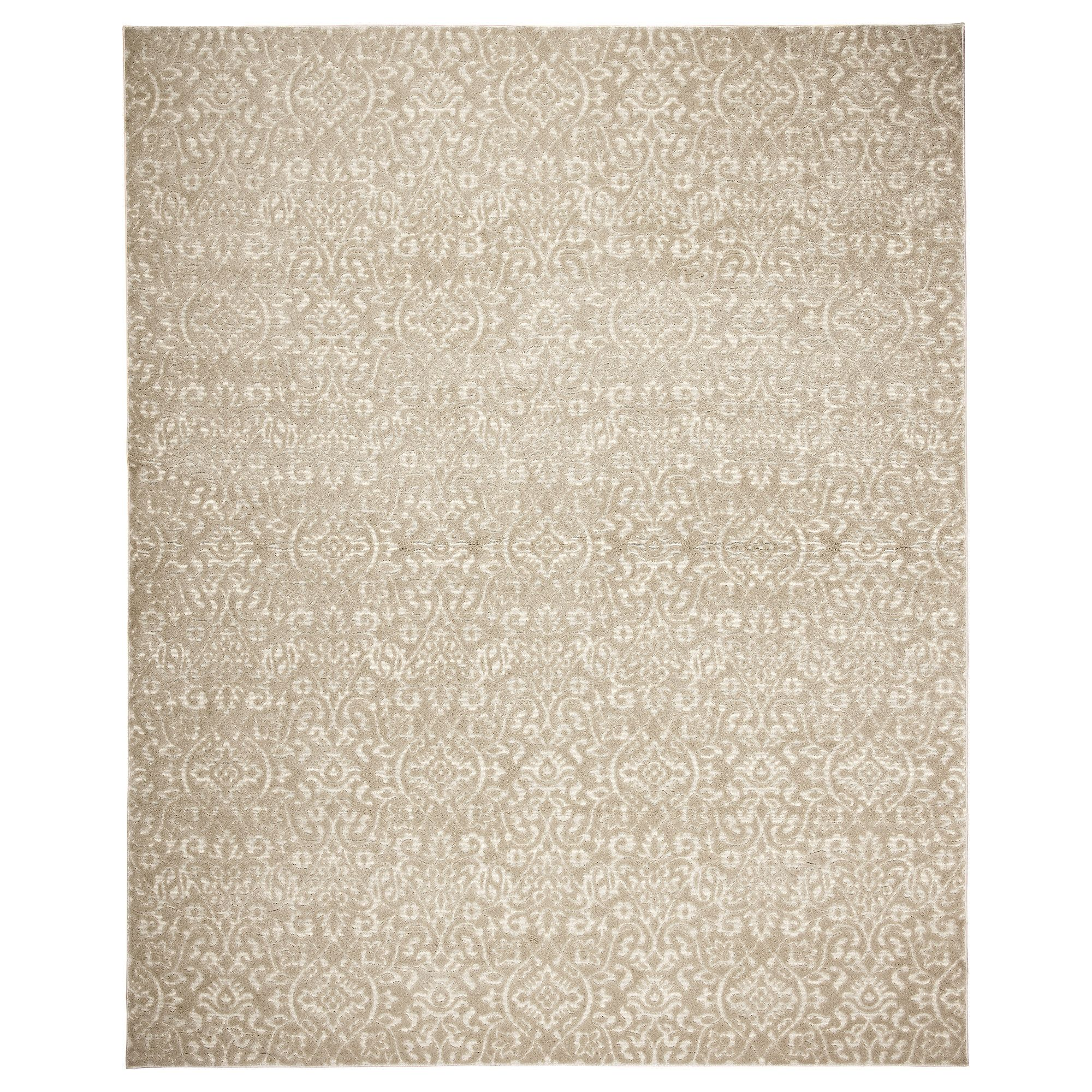Dynt Rug Low Pile Beige Decorating Rugs In Living