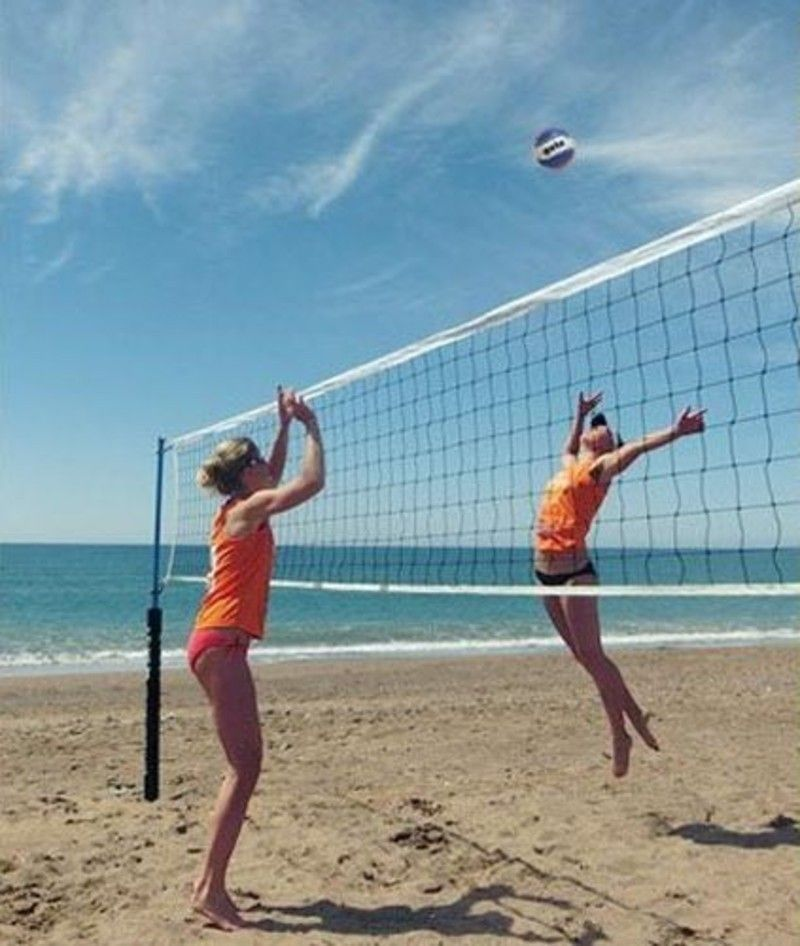 Viper Portable Volleyball Net System Volleyball Net Systems In 2020 Portable Volleyball Net Volleyball Net Volleyball