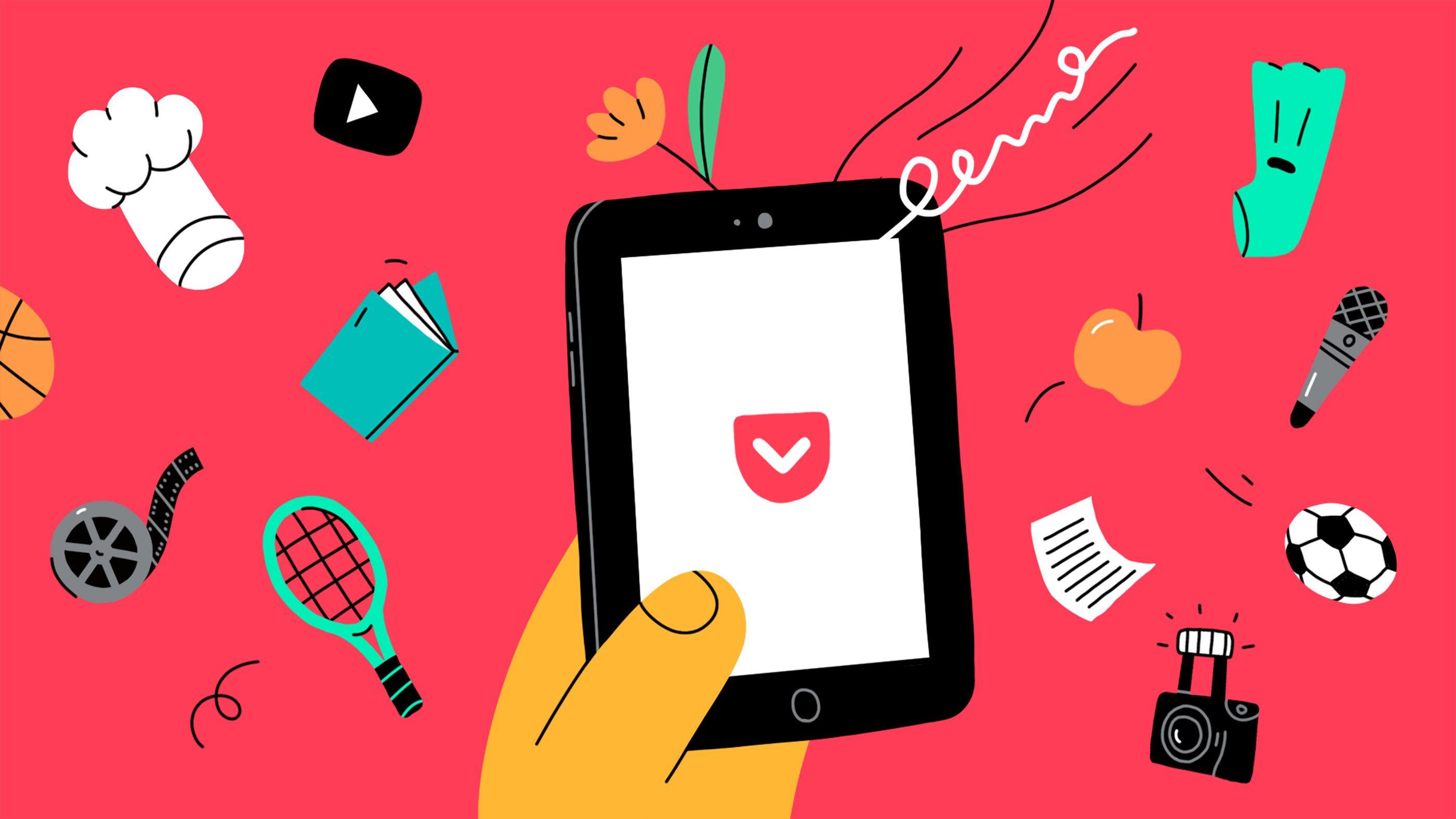 Animations for Pocket App on Behance Pocket app