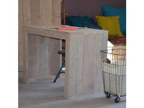 Stoer buro van steigerhout   online kopen   Klein & Stoer