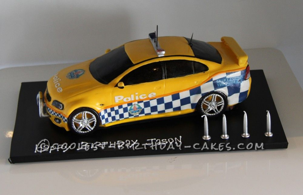 Amazing Police Car Cake Police Car Cakes Car Cakes And Police Cars