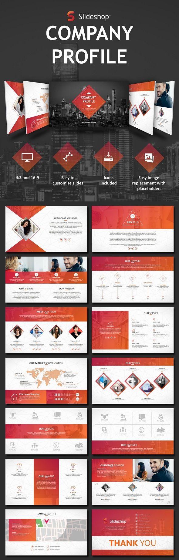 Company Profile | Creatividad empresarial, Folletos y Creatividad
