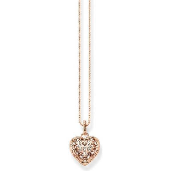 Thomas sabo cut out heart locket sterling silver rose gold plated thomas sabo cut out heart locket sterling silver rose gold plated aloadofball Gallery