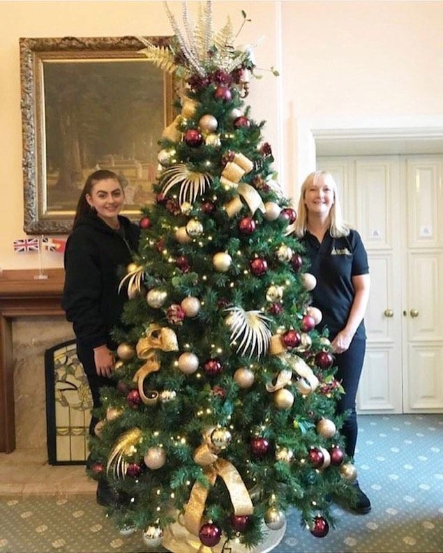 Our Tree Installed At Birmingham Lord Mayor S Office In November Was Photographed For His Officia In 2020 Traditional Christmas Tree Christmas Trends Christmas Squares