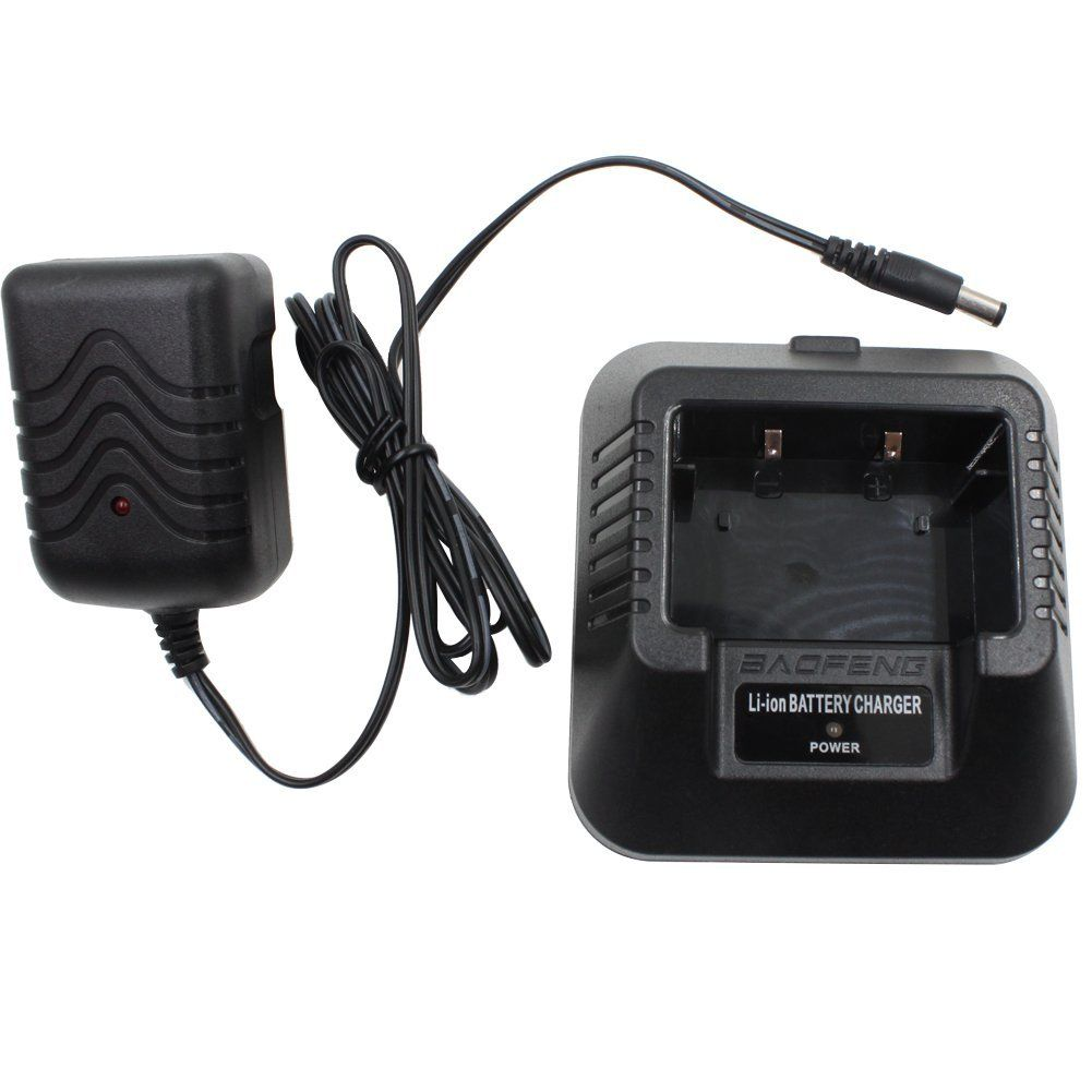 Tenq® Baofeng Radio Original Desktop Charger (Us Type) Fit for Baofeng Uv-5r 5ra 5rb 5rc 5rd 5re 5replus
