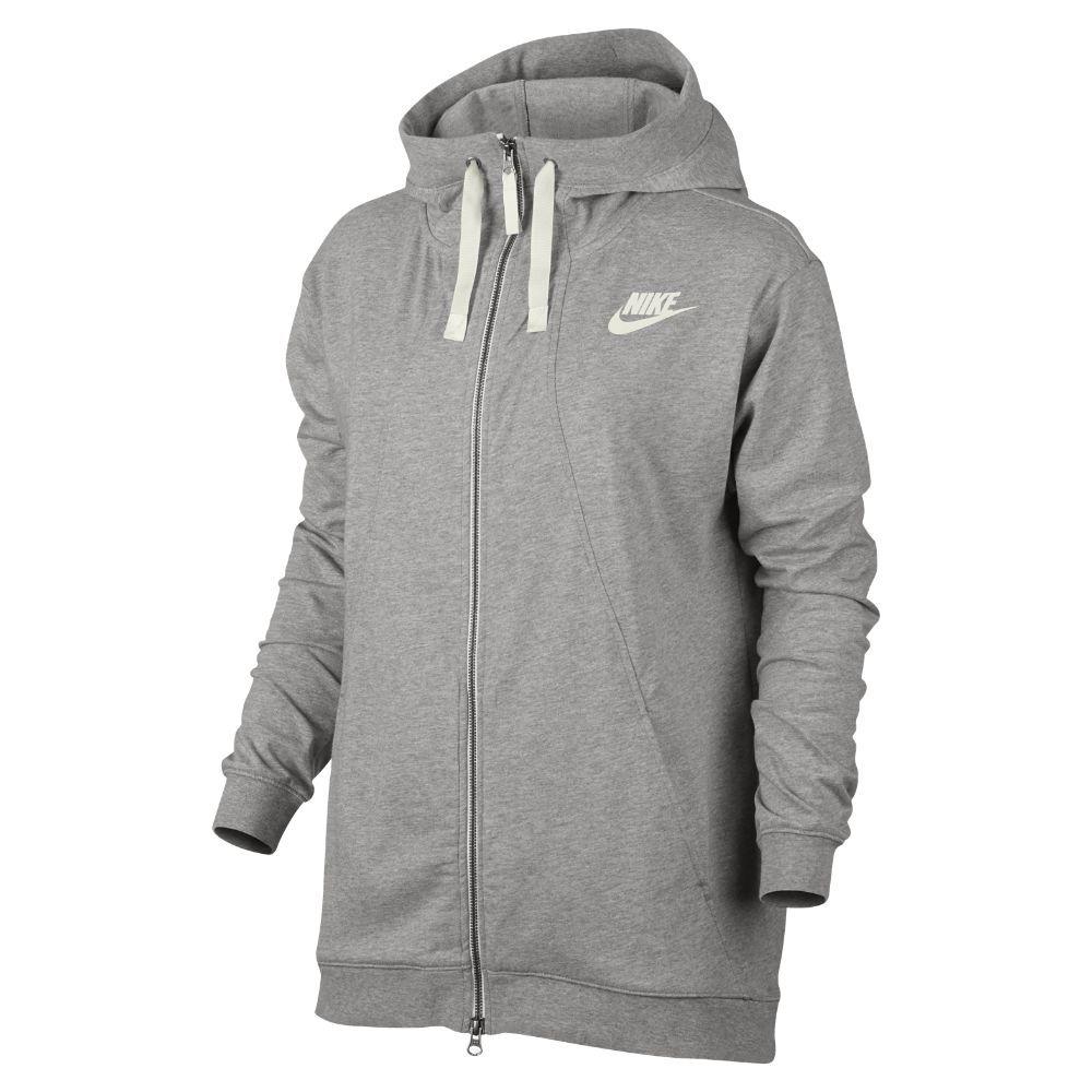17376c56b7be Nike Sportswear Gym Classic Women s Hoodie Size Medium (Grey ...