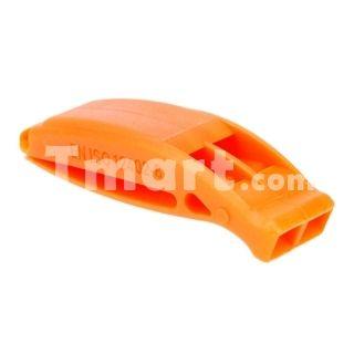 Outdoor Sports Survival Emergency Whistle Orange,$2.76