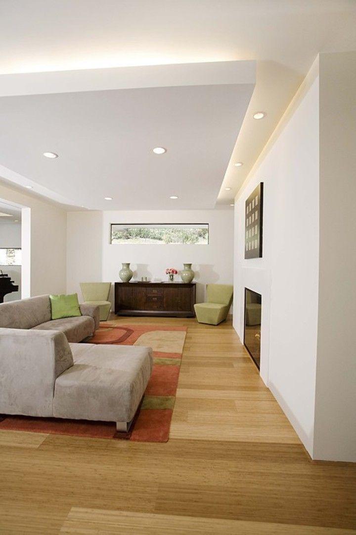 Eclairage direct et indirect   spots encastrés et bandeau Interior