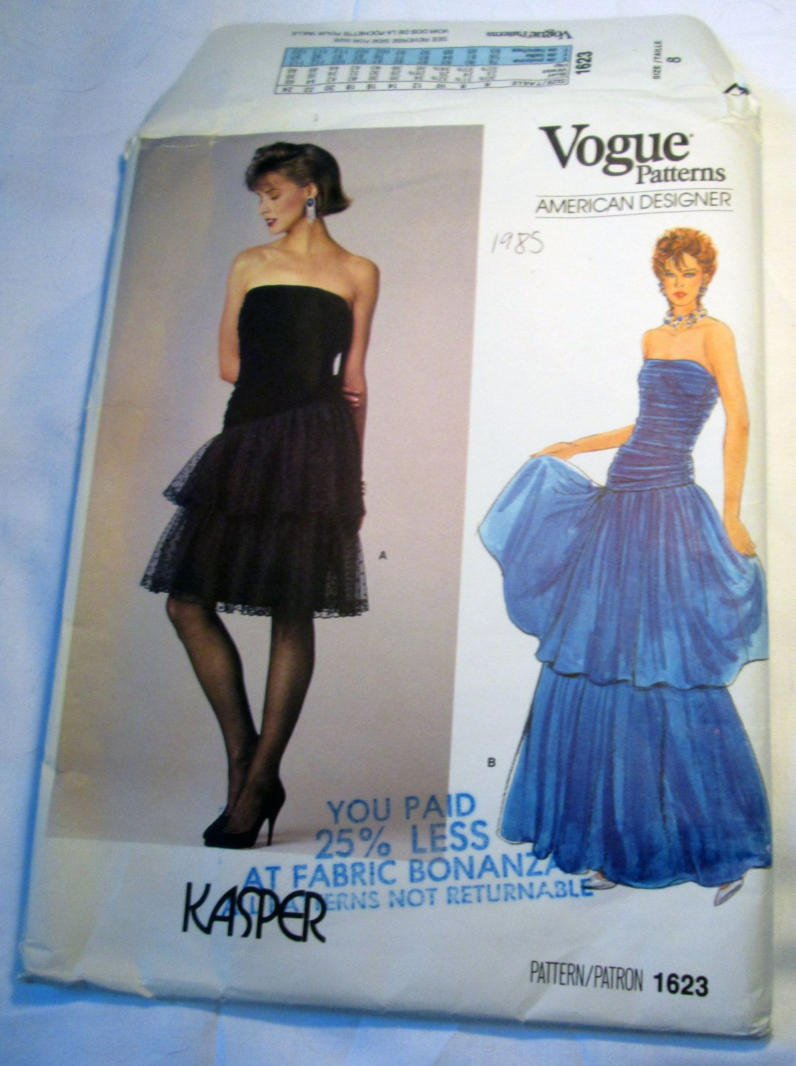 S strapless evening gown prom dress gathered bodice vogue