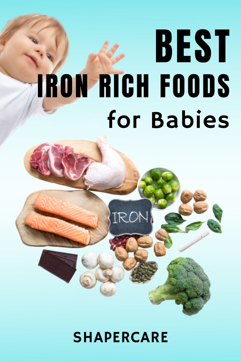 Top 10 Best Healthy Iron Rich Food List Of All Time in