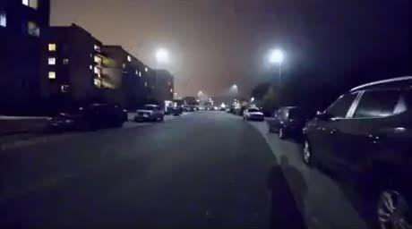 Party hard on street