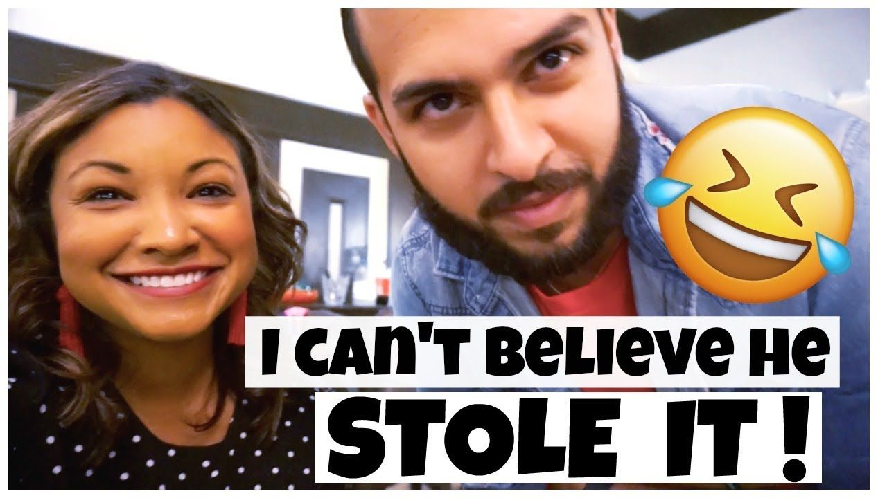 HE STOLE IT ! VLOGMAS DAY 22 DEREK AND CARLA White