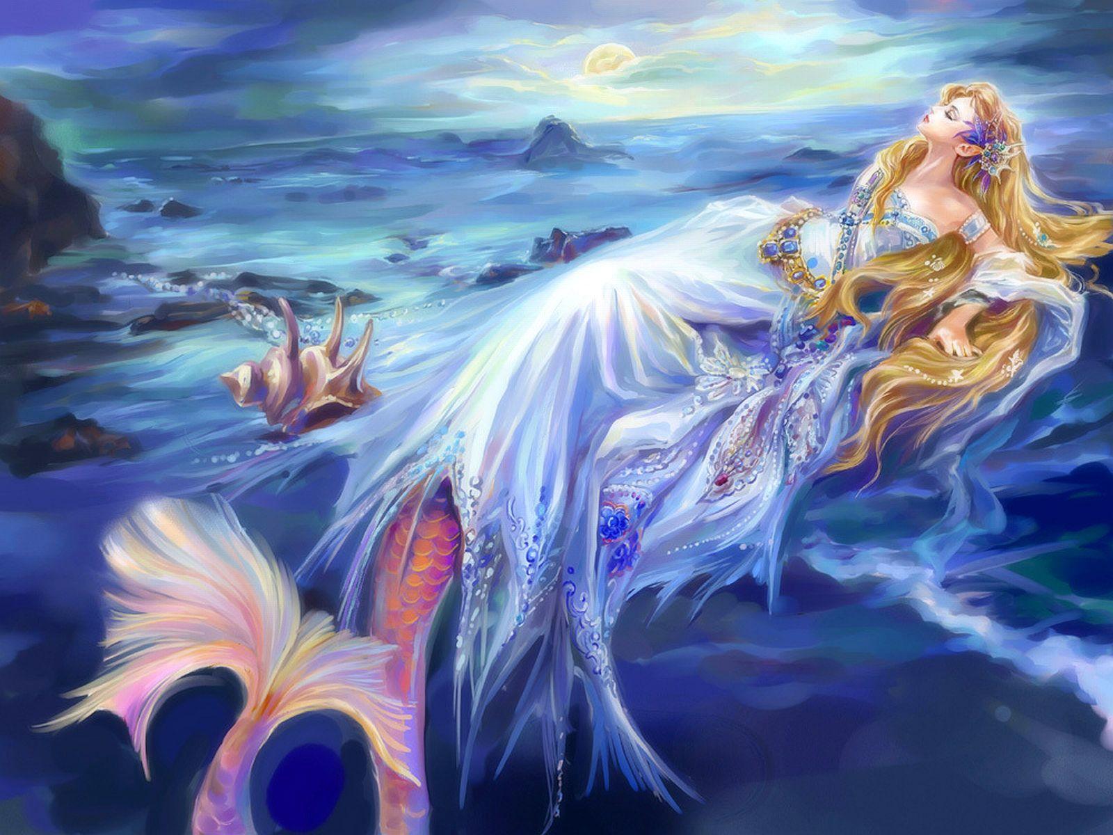 Transforming Mermaid Wallpaper Background 26365 Sirene Fantastique Fond D Ecran Sirene Sirenes Fantastiques