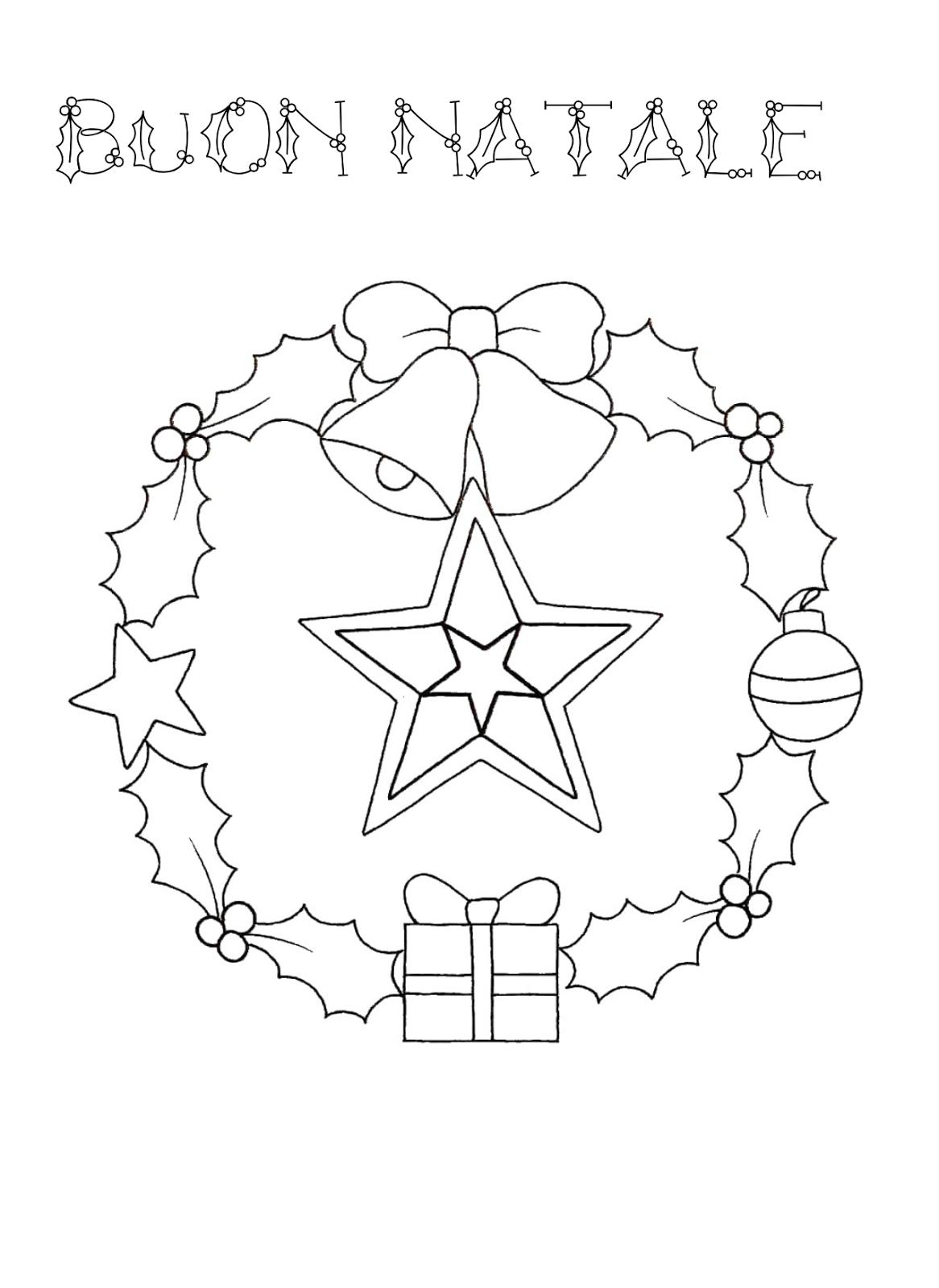 La Maestra Linda Natale Da Colorare Natale Colori Di Natale