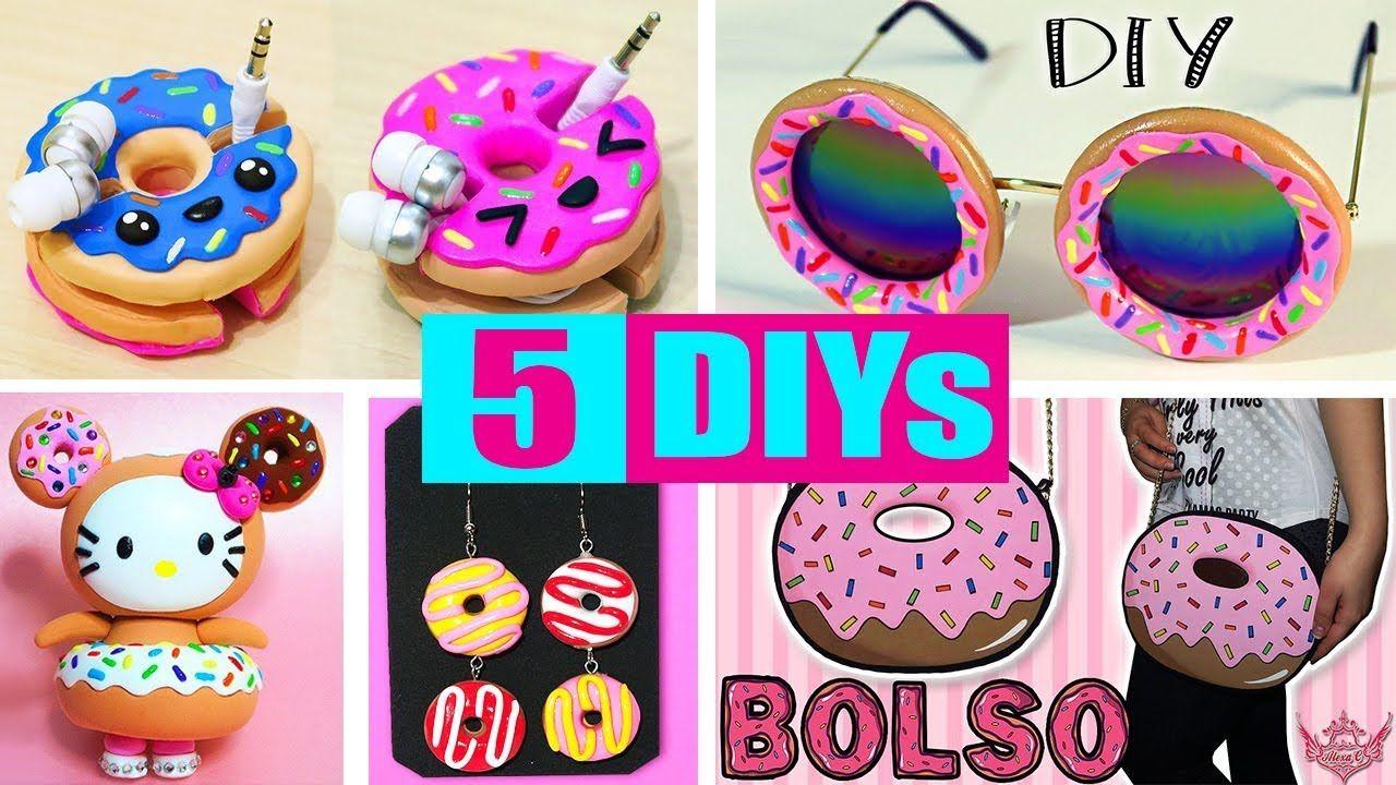 5 Diys O Manualidades De Donuts Donas Faciles Y Rapidas De Hacer