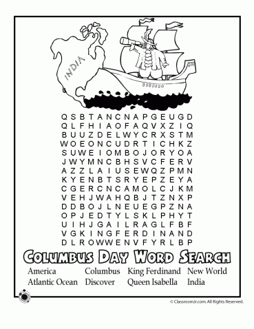 Columbus Day Worksheets And Coloring Pages For Kids Columbus Day Christopher Columbus Worksheets Worksheets For Kids