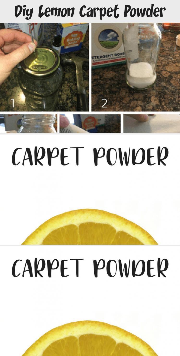 Diy Lemon Carpet Powder Does Your Carpet Need A Little Freshening Up This Lemon Scented Carpet Powder Will In 2020 Carpet Powder How To Clean Carpet Baking Soda Uses