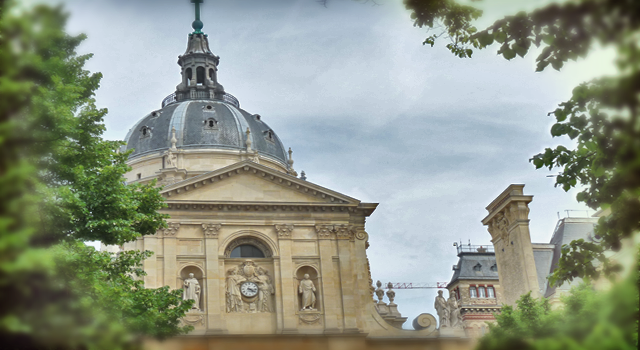 La Sorbonne, by Speekr. Learn abour the stories around that place on www.speekr.fr