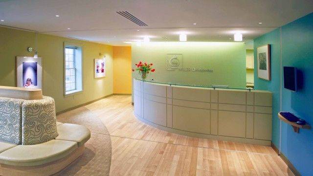 medical reception area design - Google Search Clinic Pinterest - medical receptionist