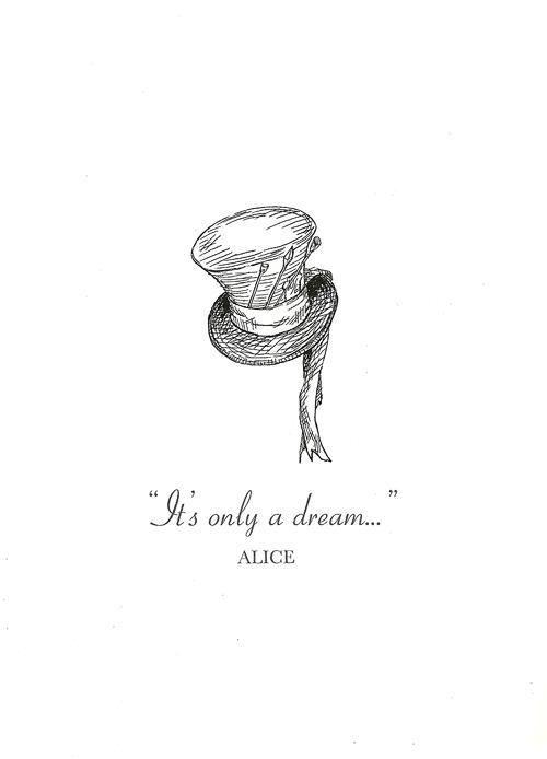 Alice In Wonderland Tumblr Wonderland Tattoo Alice And
