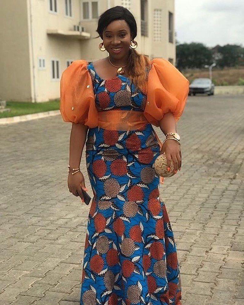 Ankara Styles On Instagram Ankara Fashion Follow Ankarastyles 1 For Mo Latest African Fashion Dresses African Print Fashion Dresses African Fashion Skirts