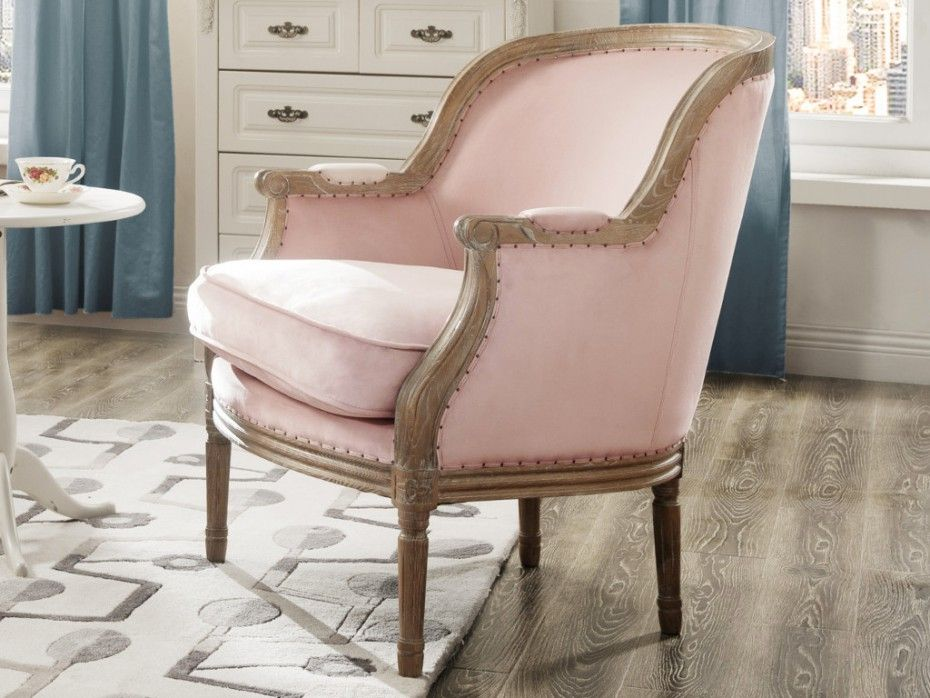 Sessel Stoff Barock Alienor   Limited Edition   Rosa