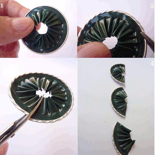 Segnaposto con il riciclo creativo delle capsule nespresso riciclo creativo - Bricolage capsule nespresso ...