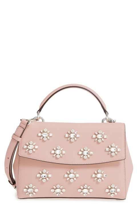 74dc212e0cb9db MICHAEL Michael Kors Ava Embellished Satchel | bags i can't afford ...